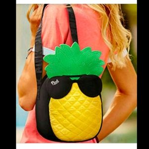 BNWT VS Pink pineapple cooler bag